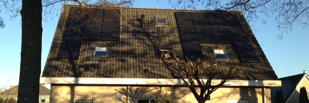 Solease Zonnepanelen dak klant wytze