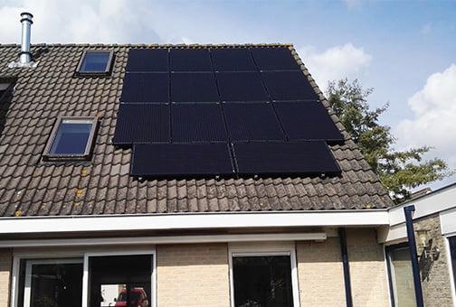 14 zonnepanelen voor 3500 kwh