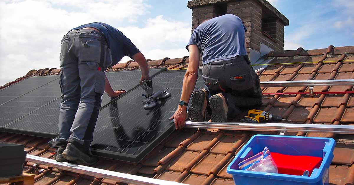 onderdelen zonnestroomsysteem zonnepanelen