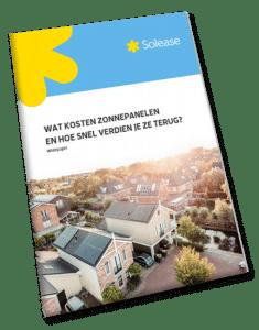 whitepaper kosten en terugverdientijd zonnepanelen pdf preview