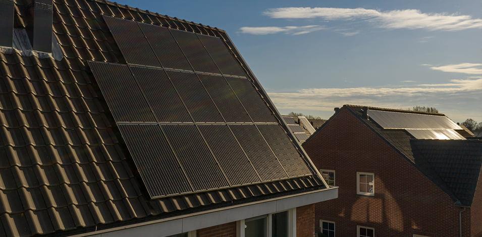 hoeveel wekt een zonnepaneel op?